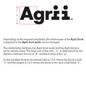 Agrii Logo Sizing