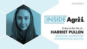 Inside Agrii Harriet Pullen, Regional Marketing Coordinator, south