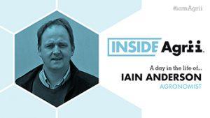 Inside Agrii Iain Anderson, Agronomist